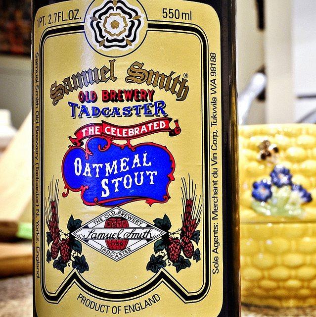 Види стаутів.  Samuel Smith's Oatmeal Stout.  Огляд пива.