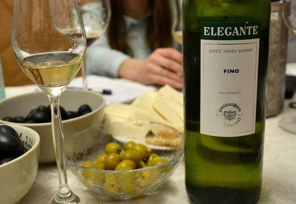 Вино херес Фіно