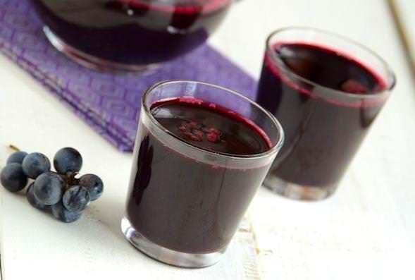 Виноград «Ізабелла» Використовують в якості сировини для компотів