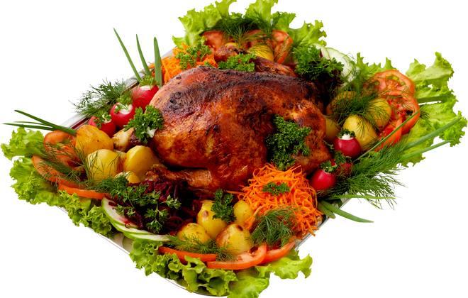 смачна копчена їжа