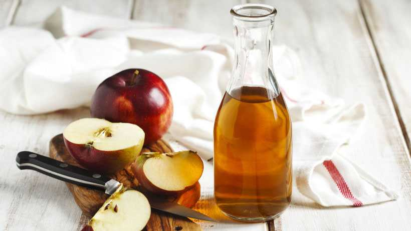 Осветление волос с помощью яблочного уксуса
