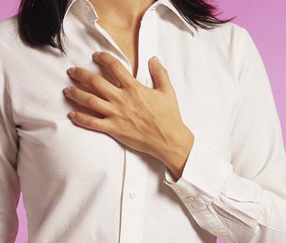 Печіння в грудіні, причини